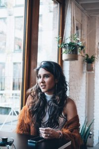 Aisha Kothari , founder of AISPI, a collaborative space for young fashion enthusiasts