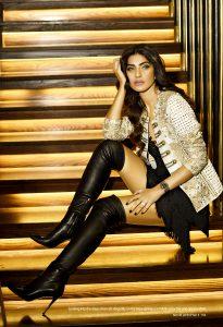 Kiran Malik poses for an Editorial Shoot