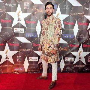 Ali Rehman Khan at Hum Awards