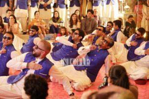The groom, Hamza Kardar's squad took over the dance floor!