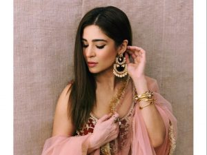 Ayesha Omar shows us how to dress up at a wedding
