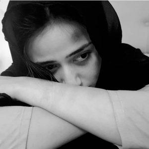 Sana Javed as rape victim