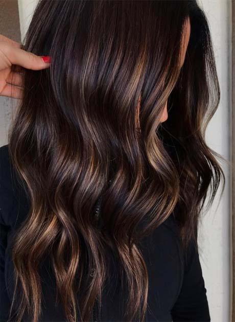 chocolate brown Hair colors