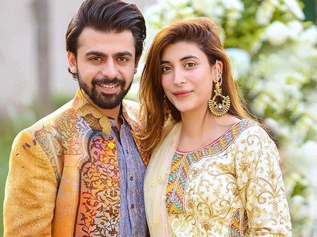 Farhan Saeed and Urwa