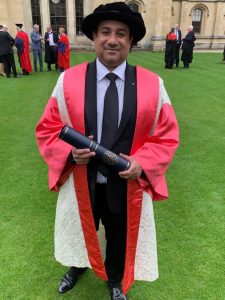Rahat Fateh Ali Khan received an honorary doctorate degree of 'Doctor of Music'