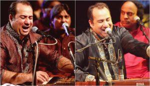 Rahat Fateh Ali Khan performing at a concert