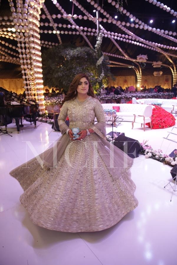 Fraraz Manan creations at the Master Wedding