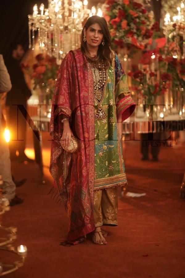 Zainab Malik at Shahrose and Adhams wedding