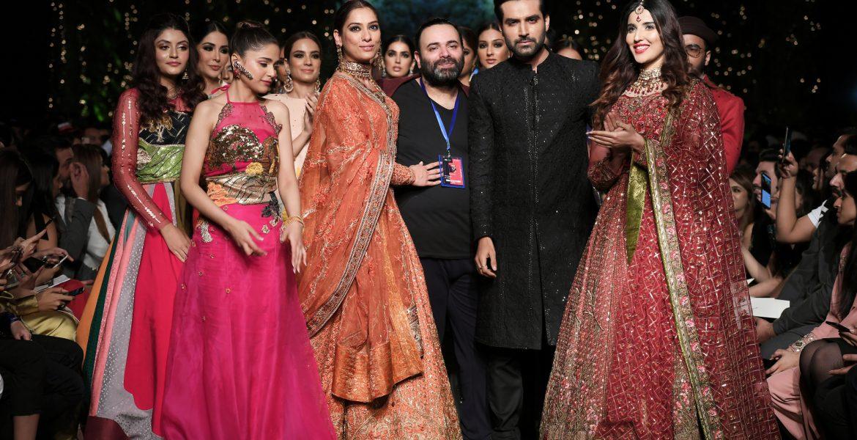 Fahad Hussayn bridal couture week