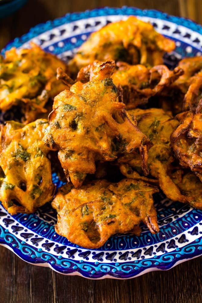 Fried pakoras