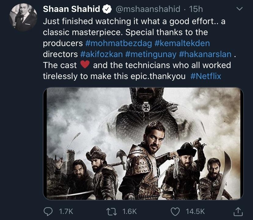 Shaan Tweet