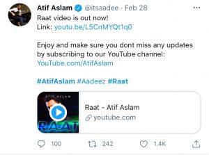 Atif Aslam's new